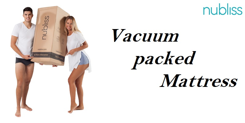 Vacuum Packed Memory Foam Mattress – Safe and Sound Delivery